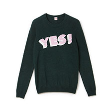 Image of Lacoste LIVE YES INTARSIA SWEATER