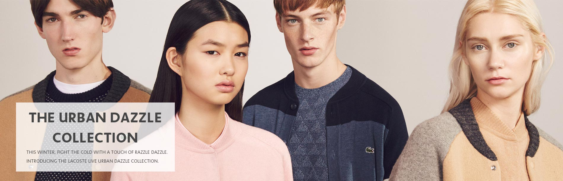 lacoste aw16 L!VE Collection